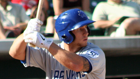 Las Vegas' Brett Lawrie led PCL hitters with 25 extra-base hits in May.